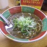 麺屋 高井田 - スジカレーラーメン(500円)