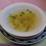国登録有形文化財 モダン亭太陽軒 - セットのスープ