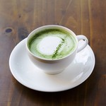 HATSUNEYA GARDEN CAFE - ドリンク写真:河越抹茶ラテ