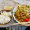 東洋 - 料理写真:焼きそば定食 750円
