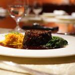 ル・ジャルダン・デ・サヴール - 和牛ホホ肉の赤ワイン煮