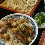 はるき茶屋 - ミニかつ丼&そばセット