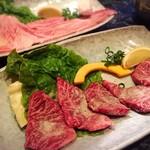 焼肉秀吉 - 和牛サガリ/上ロース✩