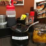 にっくい亭 - 絶品スパイス・にんにく醤油・辛子・七味・とんかつソース・福神漬け