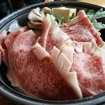 64143080 - 常陸牛すき焼き定食