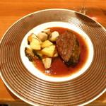 神楽坂しゅうご - 十勝ハーブ牛 頬肉の赤ワイン煮