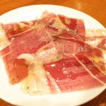 神楽坂しゅうご - 秦先生放牧豚の自家製生ハム
