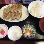 餃子館 - 餃子定食