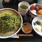 甘味処 彦いち - 茶そばセット