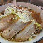 麺屋えびす - 味噌ラーメン+バラチャーシュー