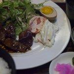 武馬 - サイコロステーキ定食