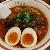 支那そば 二階堂 - 料理写真:赤そば(ナンコツ+煮玉子トッピング)