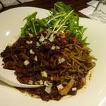 64151211 - 黒胡麻坦坦麺(汁なし)