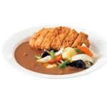 スパイスプラス - さくさくロースかつ&いろいろ野菜カレー