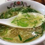 餃子の王将 - ☆スープ☆