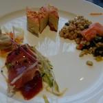 リコモンテ - 魚介の盛り合わせ