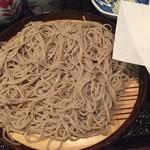 64153619 - 冷凍麺の蕎麦、天ぷらセットで980円(税抜き)