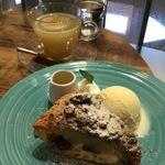 GRANNY SMITH APPLE PIE & COFFEE - ジャンドゥーヤアップルパイ