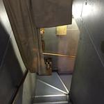 翠幸 - 入り口手前・階段を少し降りたところ