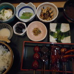 鈴の屋 - 彩り田楽定食1,080円(税込)