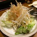 ぢどり屋 大和 - 大根サラダ