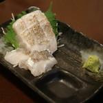 フルミチ  - 天然・タチウオ刺身(300円)2017年3月
