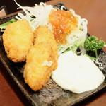 フルミチ  - パーナ貝のフライ3個(290円)2017年3月