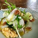 ビーナチュラル - ★★★☆ 前菜 カリフローレ、ブロッコリー、水菜・・・