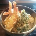 和伊んや - 海老好きの海老天丼 1,280円