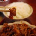 レストラン 倉井 - ホルモンダブル定食