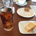 ベジキューブカフェ - ランチのドリンクとデザート