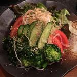 なぎさ - 野菜サラダ(450円) 2017.3
