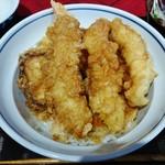 越前まるごと食彩 - 海鮮天丼