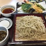 手打ち蕎麦・うどん 彩め - 天せいろ(そば)