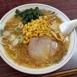 たからや食堂 - 料理写真:懐かしい味わいの「サッポロみそラーメン (600円)」