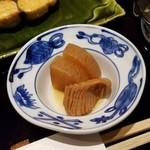 割烹 渡邊 - ランチの小鉢