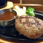 ビッグボーイ - 炙り大俵ハンバーグ。デミソース。