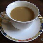 カフェテラスばら - ランチセットのコーヒー サラダも付くセットです