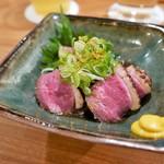 高野麦酒店takanoya - 鴨ロース(900円)