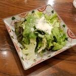 リストランテ ハナヅカ - セットのサラダ
