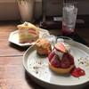 Ridi - 料理写真:苺タルト・クルミのスコーンと季節のミルクレープ