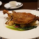 フランス食堂  オ・コションブルー - 料理写真:鴨のコンフィ・・メニューには有りません。
