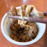デニーズ - stir 納豆