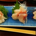 64175870 - 白身魚盛り合わせ(2000円)