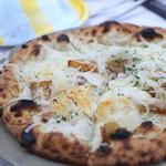ヴェント・エ・イル・レオーネ - 料理写真:玉ねぎのピザ