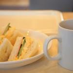 パン・ド・ミ - 料理写真:サンドイッチモーニングをいただきました(2017.3.20)