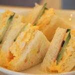 64178726 - ハム・たまご・きゅうりのサンドイッチ(2017.3.20)