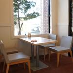 パン・ド・ミ - きちんとしたカフェスペースがあります(2017.3.20)