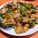 香味 - 牡蠣の炒め物