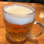 64180635 - 中生ビール                       タッパはありませんが幅広で量はたっぷり(^^)